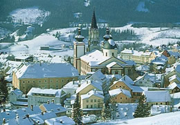 Mariazell in Winter